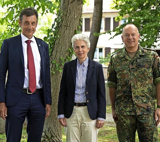 Besuch bei der Deutsch-Französischen Brigade